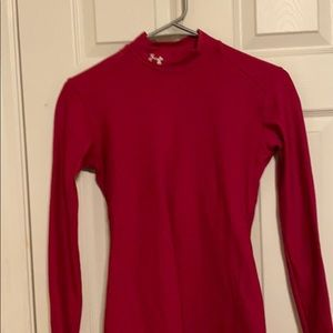 Under Armour cute Pink long sleeve top